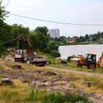 В Киеве у озера обновят парк