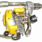 Курьезы: дрель, работающая на бензине. Видео