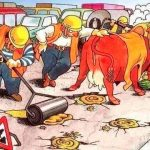 Как в Европе делают ямочный ремонт. Видео
