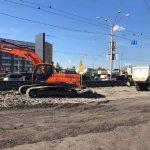 Проспект Бандеры в Киеве ремонтируют впервые за 40 лет