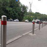 Тротуары освобождают от рекламы и машин