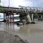 На разрушенный в 2008 г. мост внезапно нашли деньги