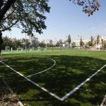 Стадион меж двух школ реконструируют