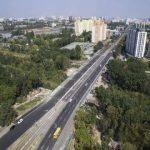Борщаговский путепровод отремонтировали