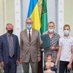 В Харькове заключили юбилейный договор по жилпрограммам