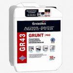 Нова ґрунтівка  ACRYL-PUTZ GR 43 GRUNT PRO подбає про ефективну підготовку різних поверхонь