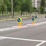 В Киеве установили больше половины островков безопасности