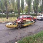 Курьезы: в Киеве замечен самый экологичный транспорт в мире. Фото