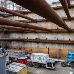 Новое метро в Киеве строят на всех площадках