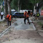 В Запорожье отремонтируют тротуары