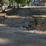 Мелитопольские фирмы разыгрывают подряды на ремонт тротуаров