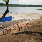 В Запорожье никак не реконструируют пляж