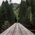 На Закарпатье строят железнодорожный мост