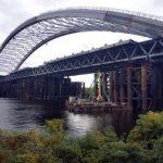 Опоры для Подольского моста в сторону Троещины уже подготовили