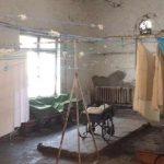 В хустской ковид-больнице перепланируют помещения