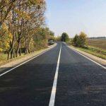 Под Уманью меж двух сел починили часть дороги