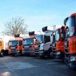 Курьезы: как тяжелые грузовики исполнили новогодний Щедрик. Видео