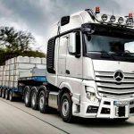 На дороги Европы вышел юбилейный супертяжелый тягач Mercedes Actros