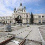 Стоимость реконструкции привокзальной площади во Львове выросла