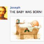 Визуализация Рождества Христова современными цифровыми технологиями. Видео