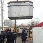 В Днепровском районе Киева демонтировали больше всего незаконных элементов благоустройства