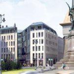 Во Львове возобновляют строительство гостиницы в запрещенном месте
