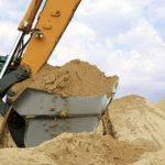 Для строительства бетонной дороги незаконно добывали песок