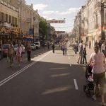 Улица Сагайдачного снова стала пешеходной