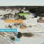Строится первая в мире площадка для автономной техники
