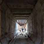 Строительство метро на Виноградарь не остановилось