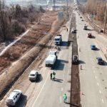 Как строится объездная вокруг Харькова. Видео