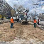 В Киеве начали ремонт Кольцевой