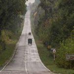 В Чернобыльской зоне начали ремонтировать дороги