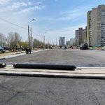 На Милославской отремонтировали трамвайный переезд