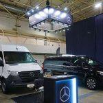 Mercedes-Benz представил свою технику на Международной выставке ComAutoTrans-2021 в Киеве