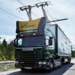 В Германии открыт первый в Европе автобан для электрических грузовиков. Фото и видео