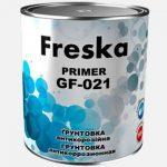 На рынке ЛКМ представлена линейка покрытий ТМ Freska: антикоррозионная грунтовка ГФ-021