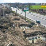 У Киева начали строить развязки