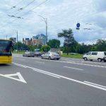 Количество полос для общественного транспорта растет