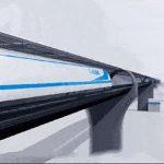 В Китае строят испытательную линию для поездов со скоростью до 1000 км/ч