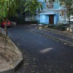 Оболонский район отстает в ремонте придомовой территории
