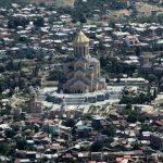 Свято-Троицкий собор в Грузии – один из самых больших в мире.  Фото