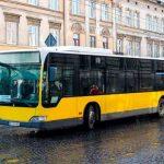 На городские маршруты Львова выехали автобусы Mercedes-Benz
