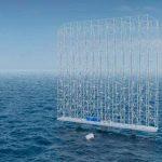 """300-метровые плавучие """"ветроуловители"""" будут снабжать энергией 80 тыс. домов"""