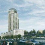 Вместо высотного отеля на Крещатике построят МФК