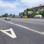 В Киеве открыли очередную выделенную линию для общественного транспорта