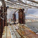 На Подольском переходе демонтируют опоры