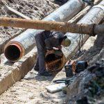 В Киеве отремонтируют часть старого трубопровода