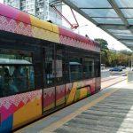 В Киеве отремонтировали станцию скоростного трамвая
