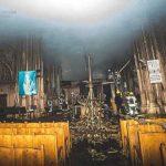 Киев держат не в курсе о восстановлении сгоревшего костела